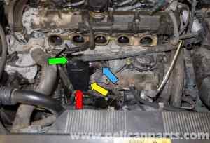 Volvo V70 Crankcase Breather Replacement (19982007