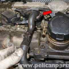 1998 Volvo V70 Engine Diagram 2009 F250 Fuse Box Crankcase Breather Replacement (1998-2007) - Pelican Parts Diy Maintenance Article