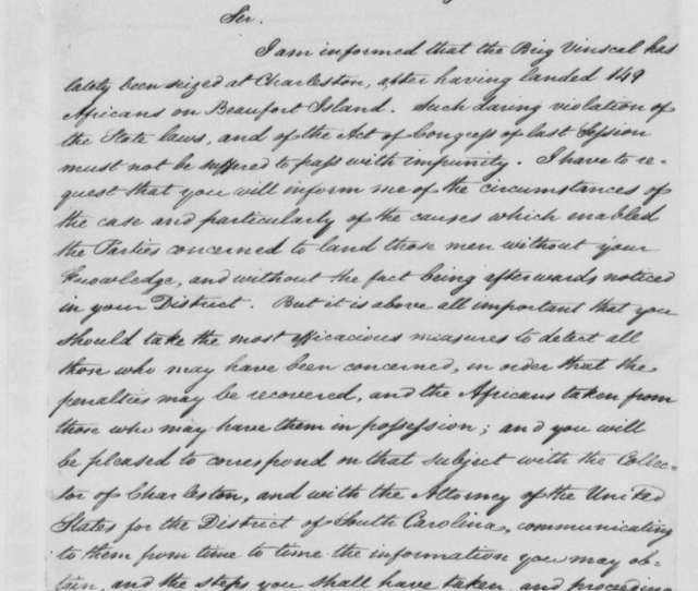 Albert Gallatin To Robert G Guerard August 11 1803 Enclosed With Gallatin To Jefferson Letter Dated August 11