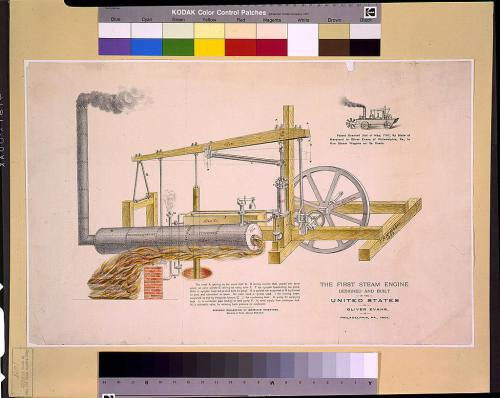 small resolution of the first steam engine designed and built in the united states by oliver evans
