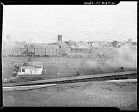 Hanna furnaces of the Great Lakes Steel Corporation ...