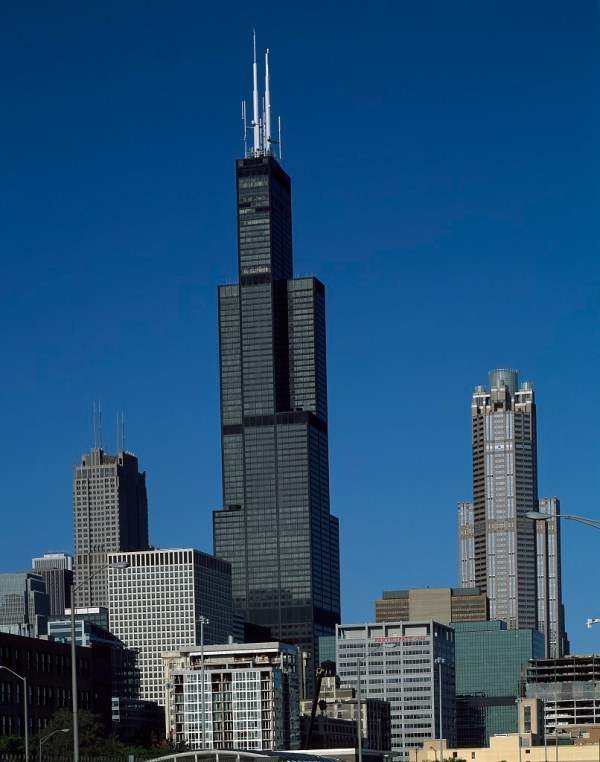 Willis Tower Long Sears Chicago Illinois Picryl