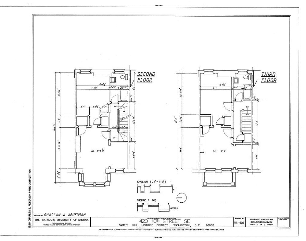 medium resolution of 420 tenth street southeast house washington district of columbia dc