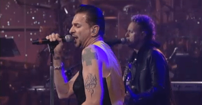 Watch Depeche Mode Perform on