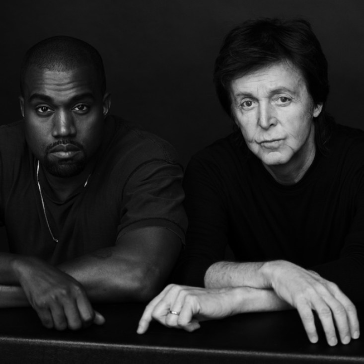 Kanye West and Paul McCartney Team Up for