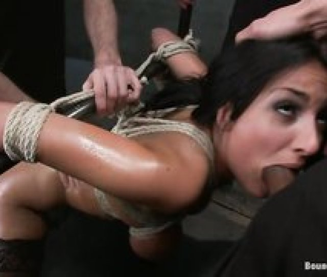 Hd 358 French Goddess With Tit Bondage Enjoys Anal Sex