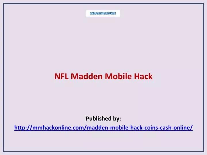 ppt madden mobile hack
