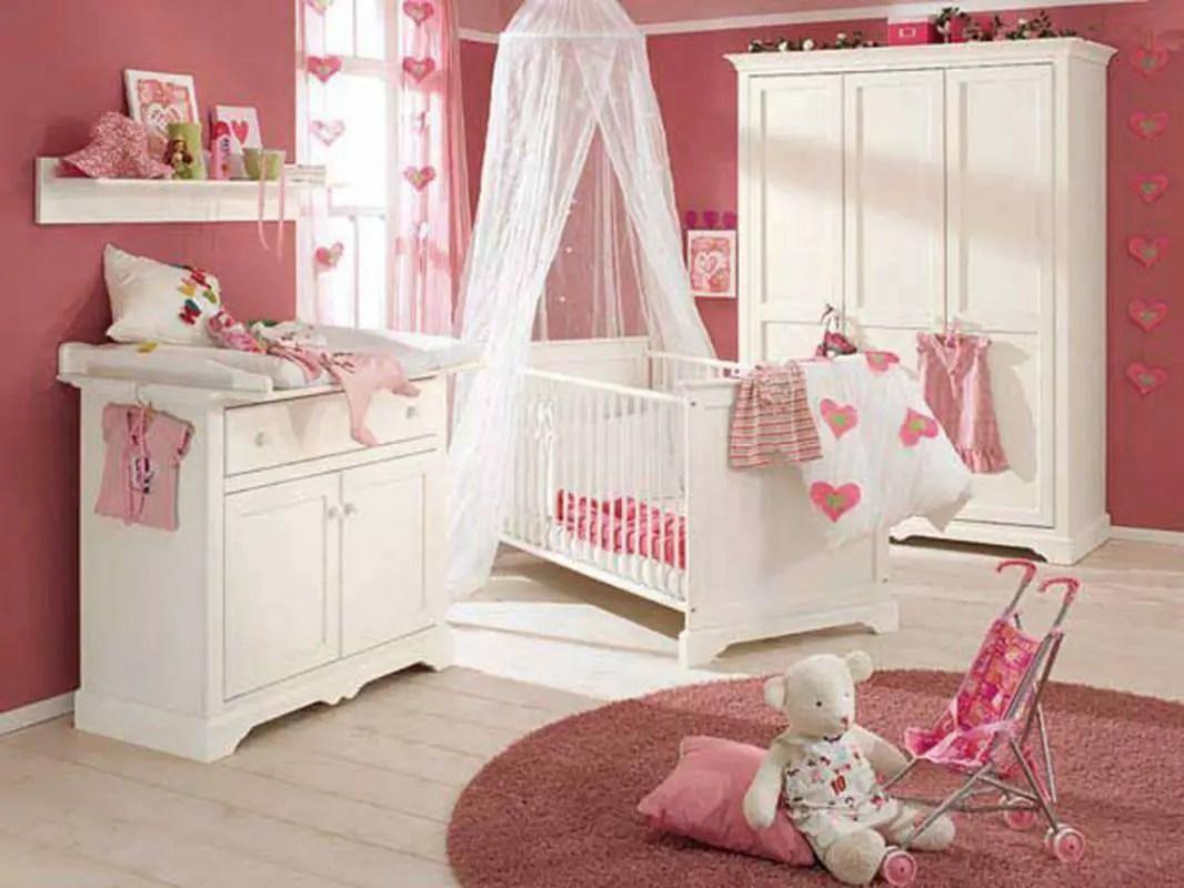 Decoracin de habitaciones para bebs Gua ideas y