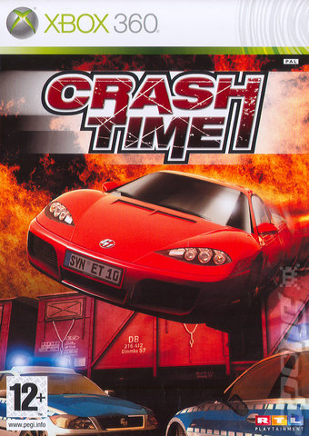 Covers  Box Art Crash Time  Xbox 360 1 of 1
