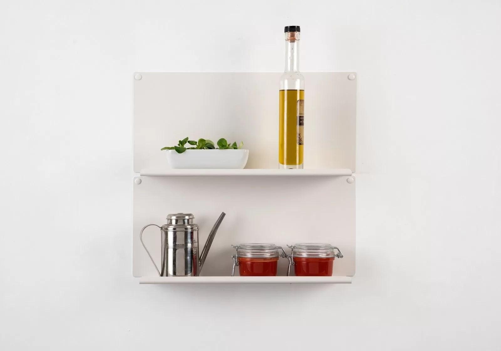 kitchen wall shelf concrete island set of 2 shelves quotle quot