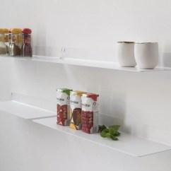 Kitchen Wall Shelf Old Fashioned Stool With Steps Shelves Teeline 4515 Set Of 4 Teebooks