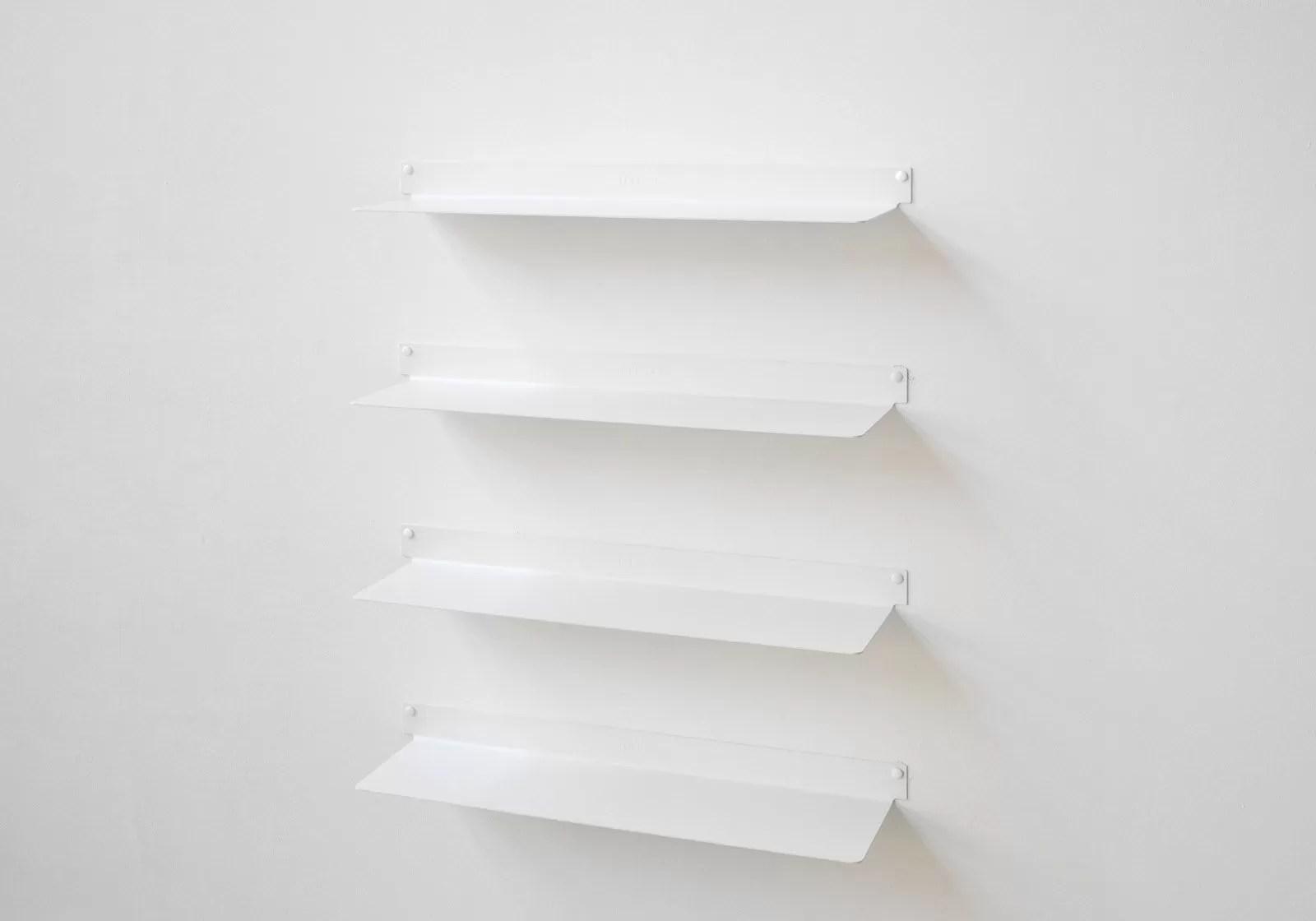 etagere murale design blanc