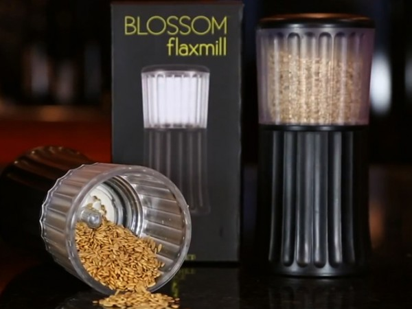 kitchen gadget gifts how much does an outdoor cost flax seed grinder from blossom flaxmill