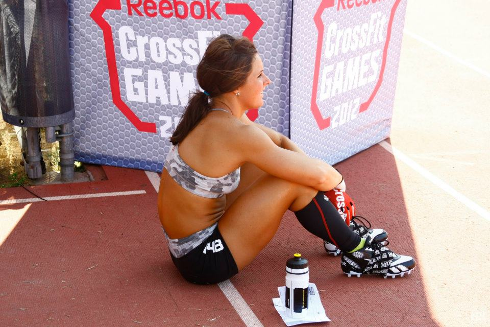 Stacie Tovar at the 2012 CrossFit Games