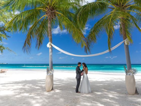 Sandals Barbados Barbados Caribbean Wedding Tropical Sky