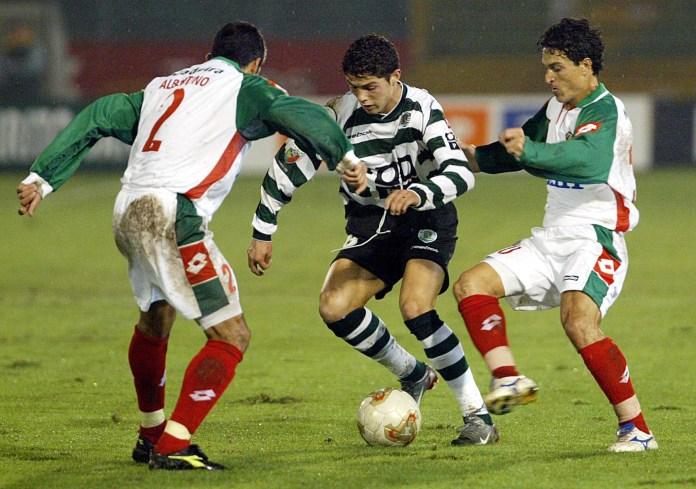 Cristiano Ronaldo Sporting de Lisboa