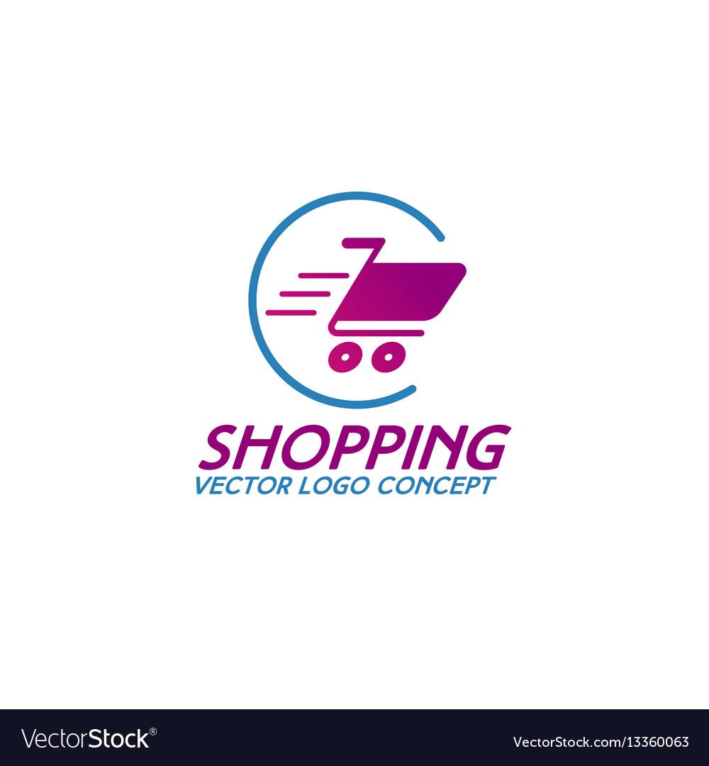 on line shopping logo