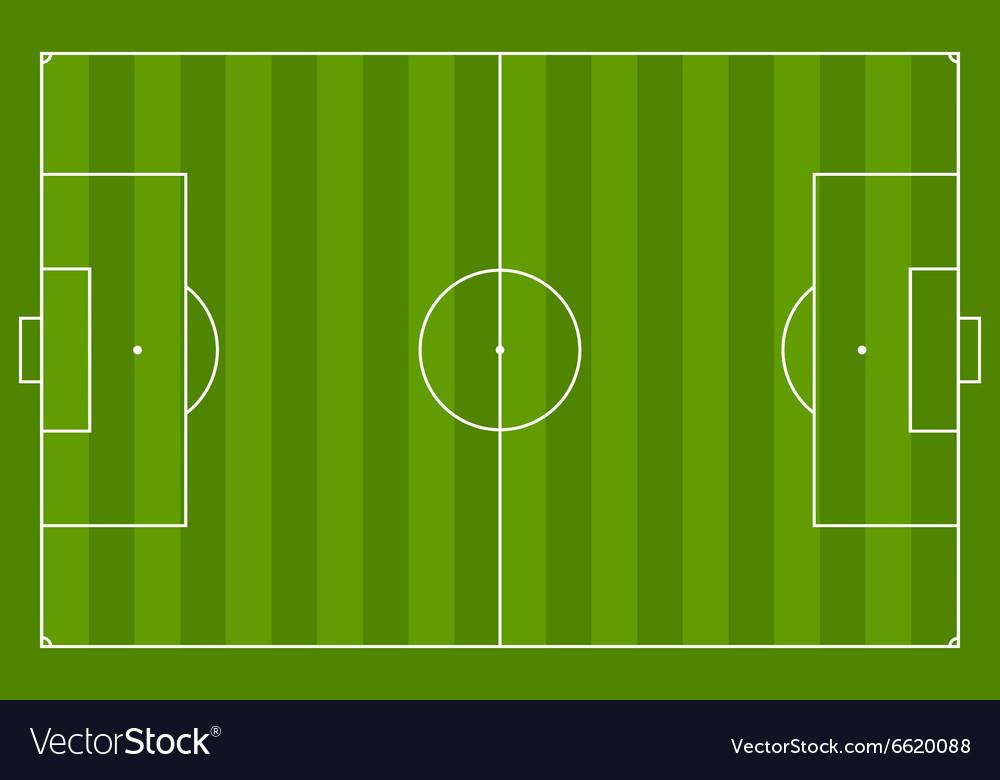 green soccer field background