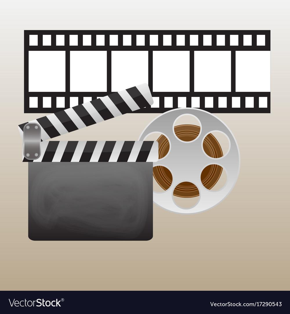 Movie Retro Posters And Flyers Set Vintage Cinema Vector Image