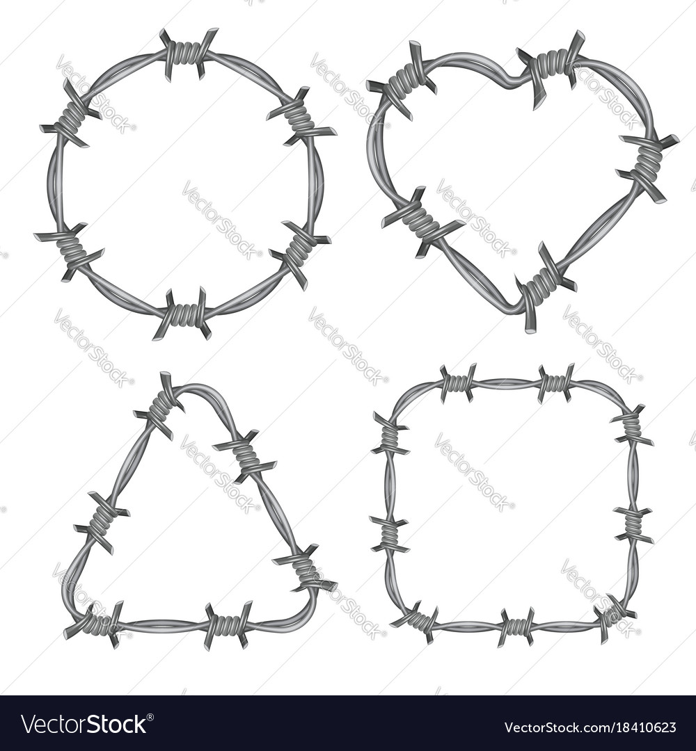 hight resolution of barbed wire diagram