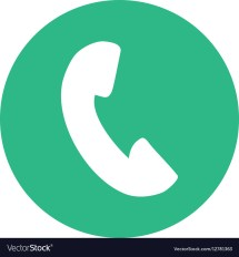Phone Icon Button Thumbnail Royalty Free Vector