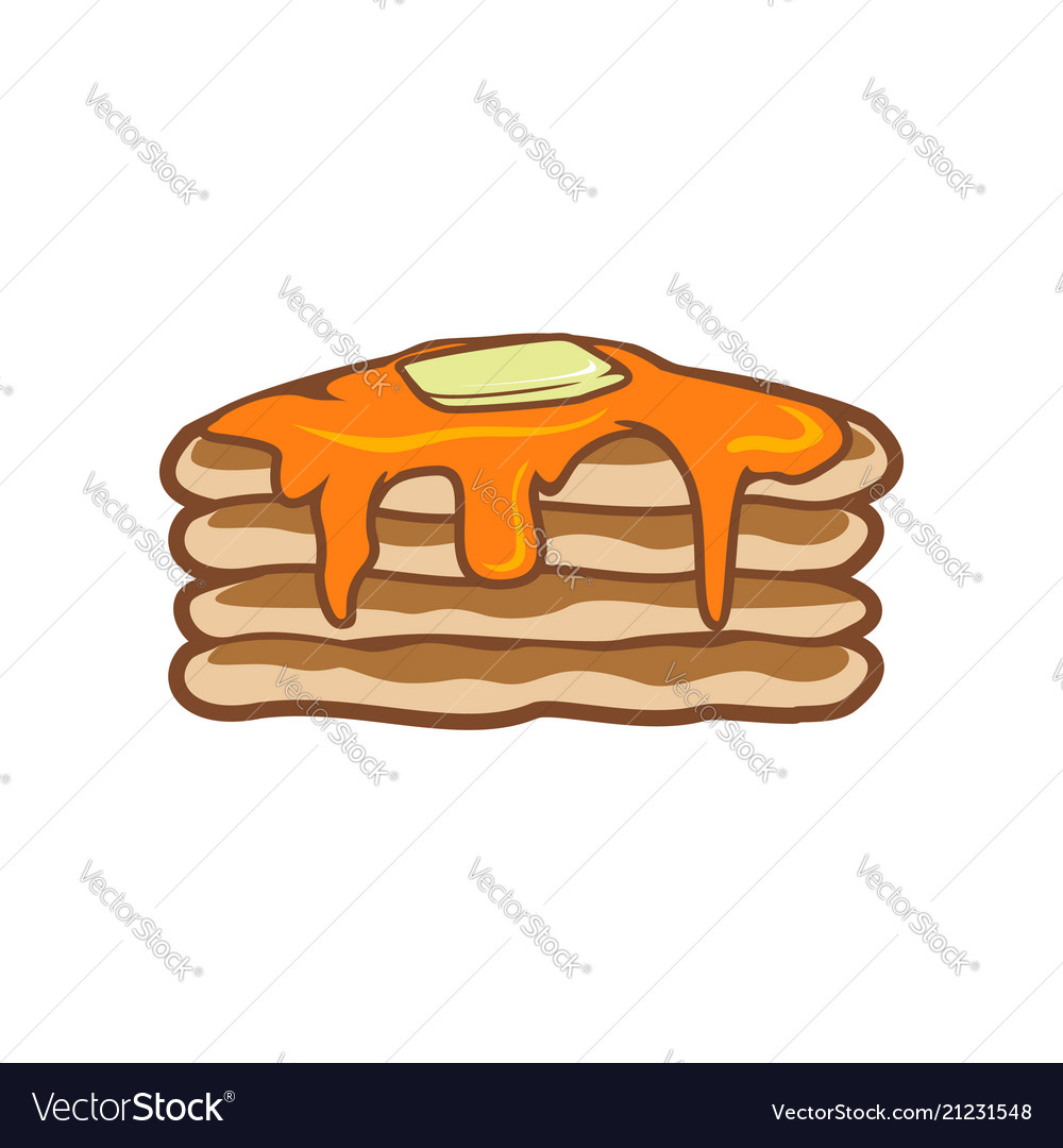 hight resolution of pancake clipart free