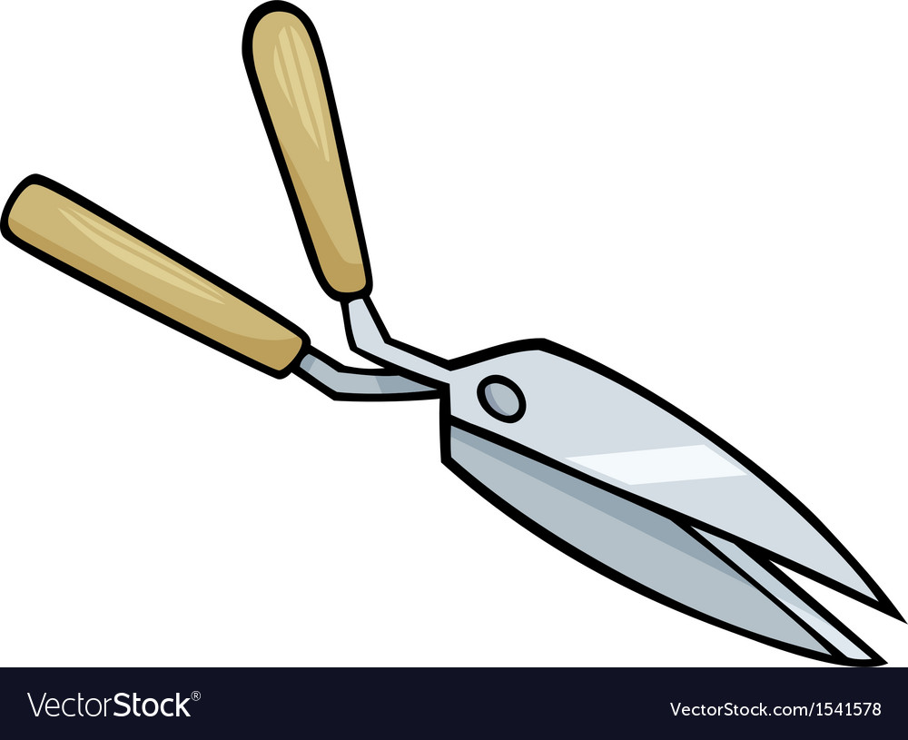 hedge scissors clip art