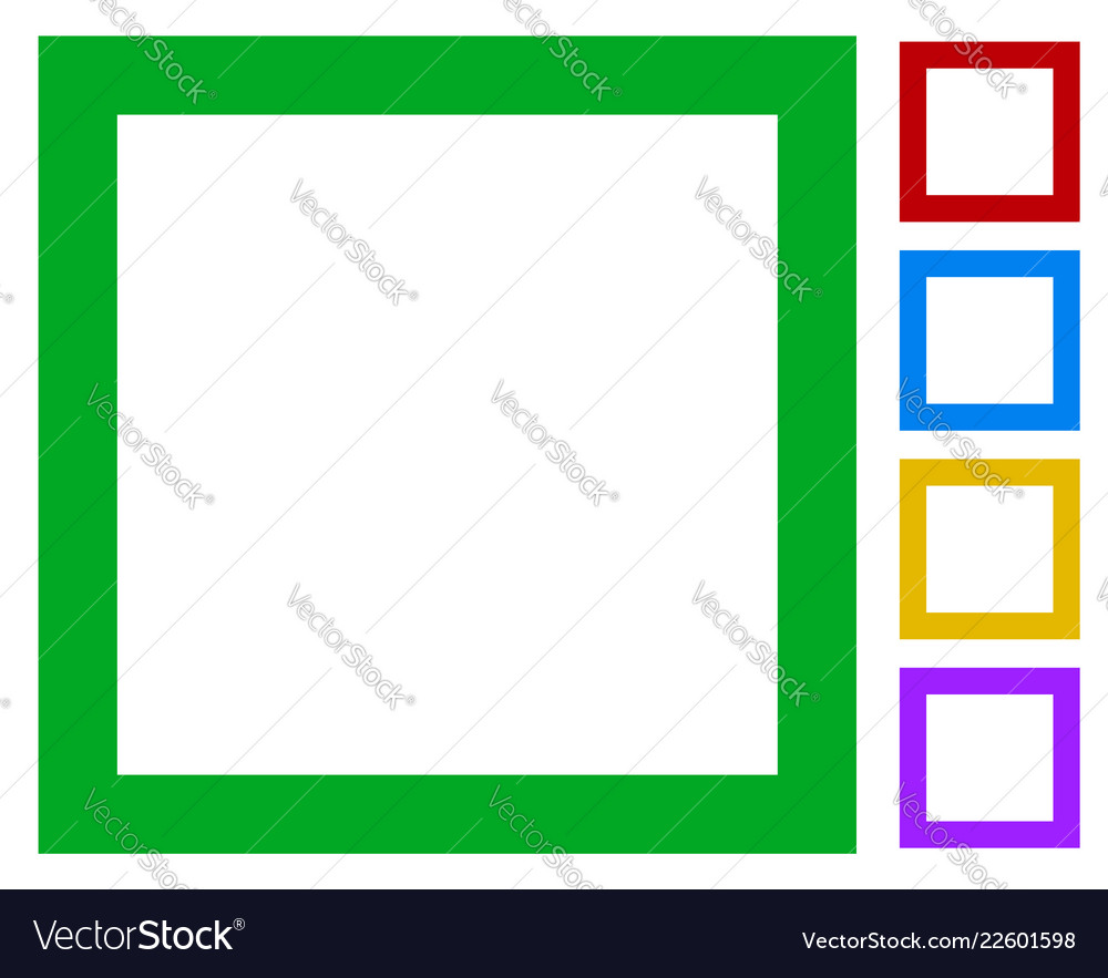 simple basic frame border