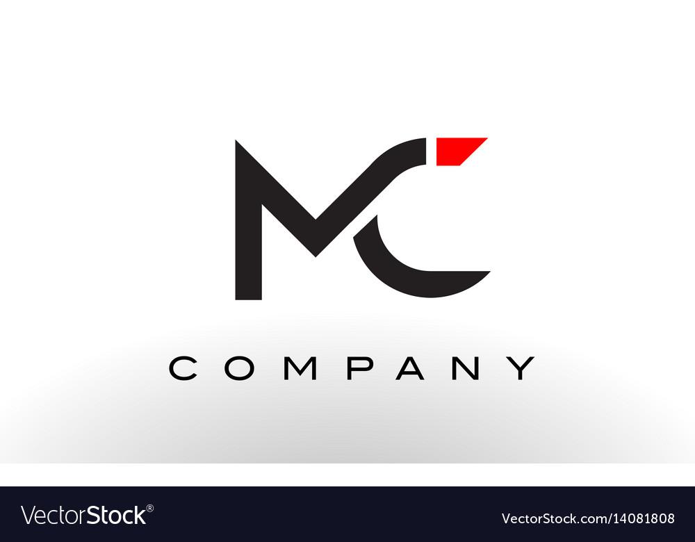 mc logo letter design