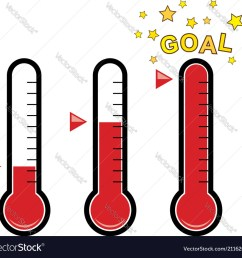 clipart set of goal thermometers vector image [ 1000 x 964 Pixel ]