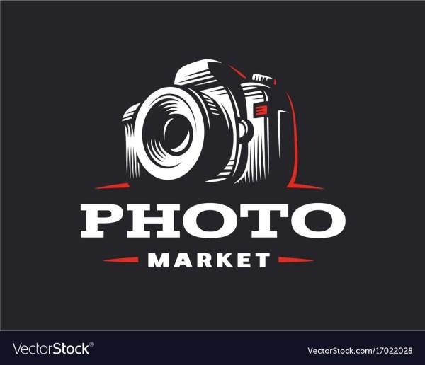 Camera Logo - Vintage Royalty Free Vector