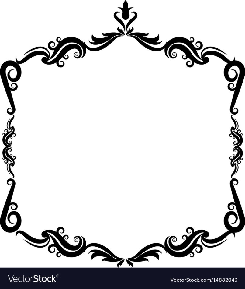 Cute Black And White Borders Frames | flowerxpict co