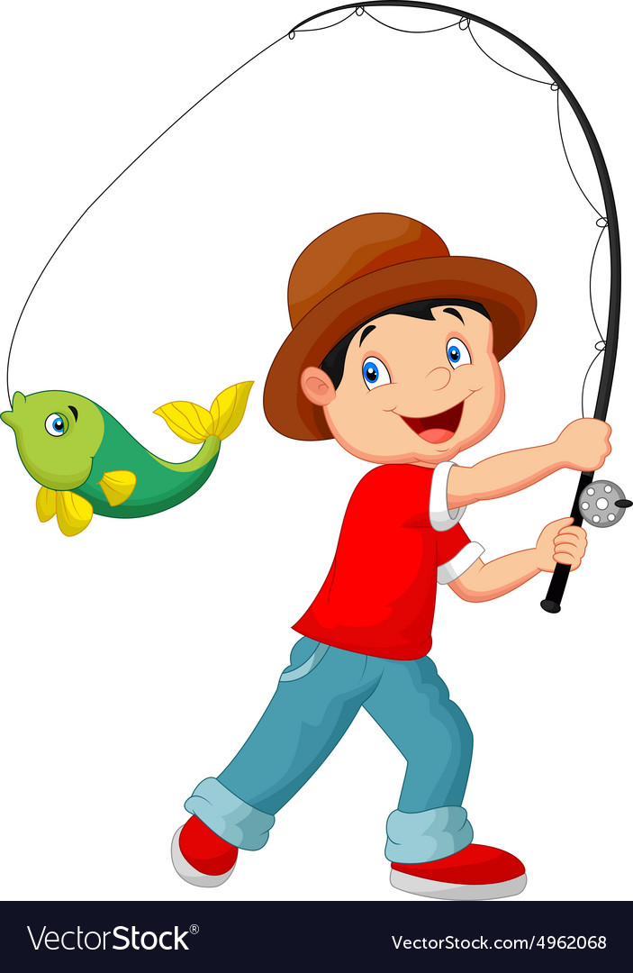 Cartoon Fishing Pictures - Cliparts.co