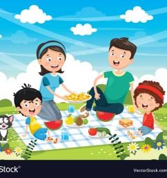family picnic clipart [ 1000 x 788 Pixel ]