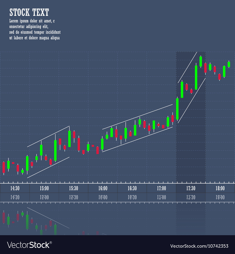 stock market graph of