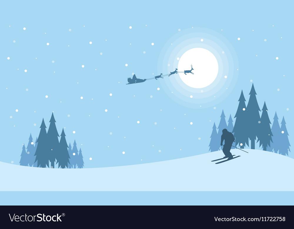 at night train santa