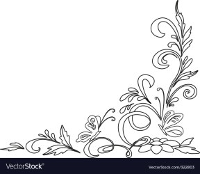 Flower clipart Royalty Free Vector Image VectorStock