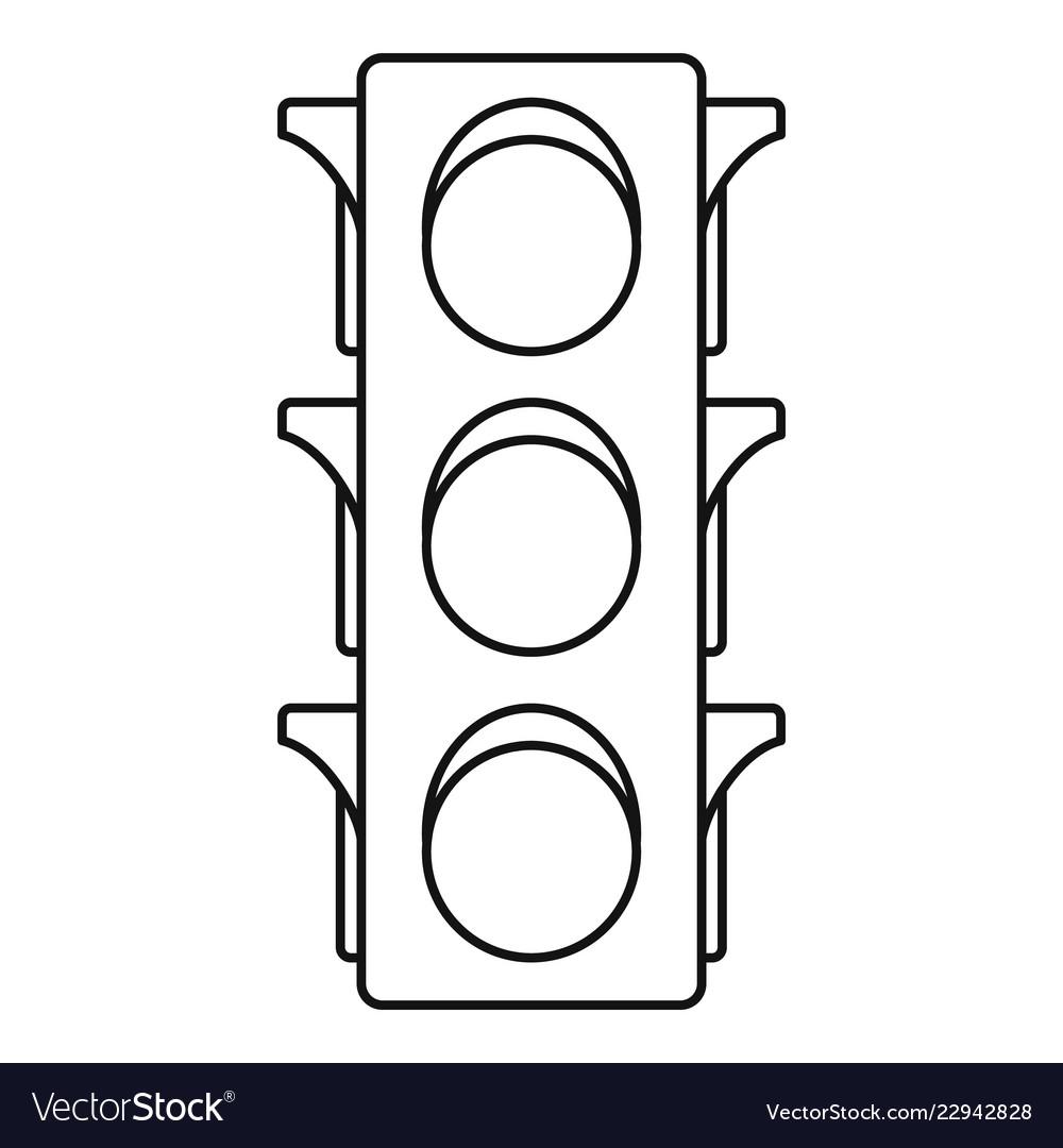 hight resolution of traffic light line diagram wiring diagram datasource traffic light single line diagram classic traffic lights icon