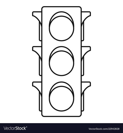 small resolution of traffic light line diagram wiring diagram datasource traffic light single line diagram classic traffic lights icon