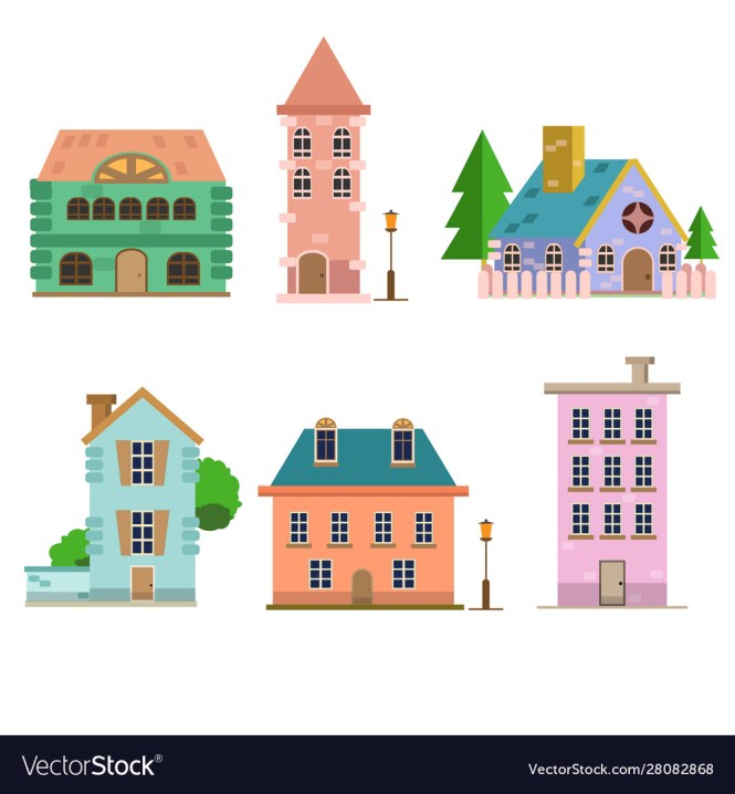 Flat Style Royalty Free Vector Image