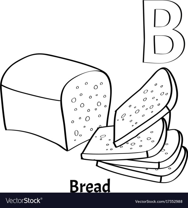 letter b coloring page # 16