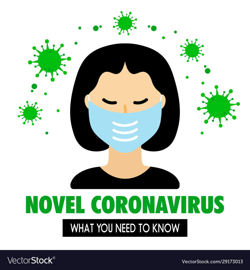 Corona Virus Mask Vector Png