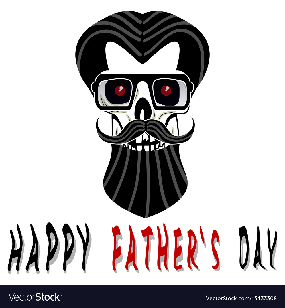 hight resolution of happy fathers day vector image