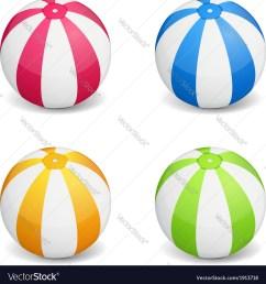 beach ball vector image [ 992 x 1080 Pixel ]
