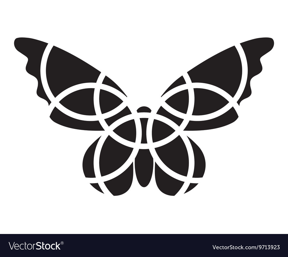 hight resolution of butterfly icon mosaic butterfly clipart vector image