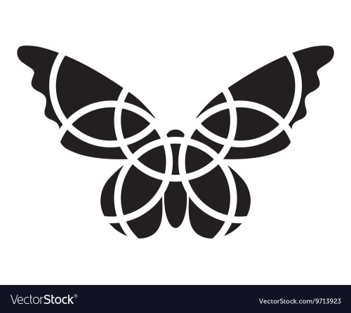 small resolution of butterfly icon mosaic butterfly clipart vector image