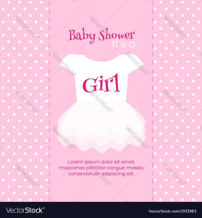 Baby Shower Invitation Template Royalty