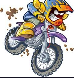 bmx dirt bike rider vector image [ 890 x 1080 Pixel ]