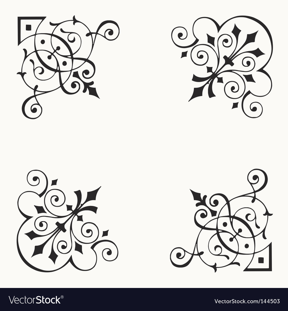corner border elements