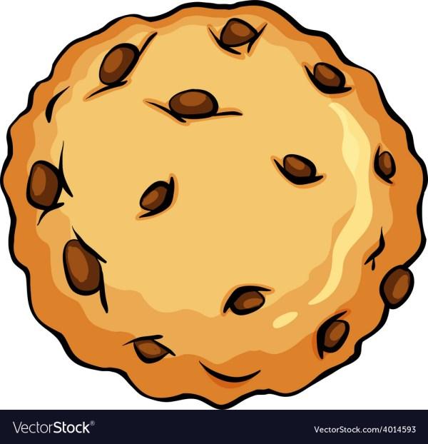 crunchy brown cookie royalty free